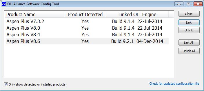 Installing the OLI Engine for Aspen PLUS - wiki olisystems com