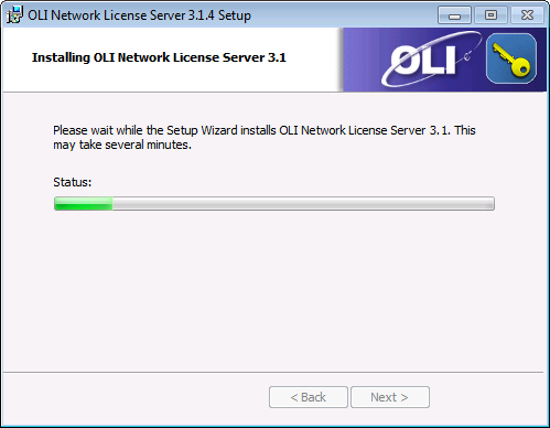 Installing and Running the OLI License Manager 3 x - Softkey Edition